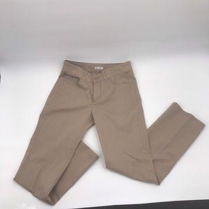 Lee Khaki Low Waist Flare legs Jeans